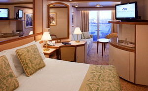 Mini-Suite der Dawn Princess - Kabinenfoto Suite