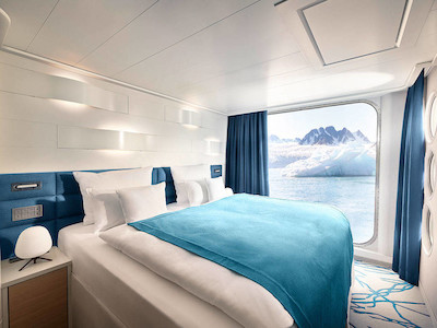 Junior Suite der HANSEATIC spirit