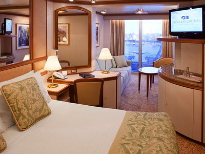 Mini-Suite der Island Princess - Kabinenfoto Suite
