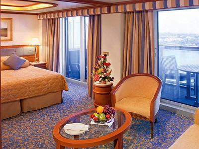 Vista-Suite der Island Princess