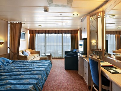 Legend of the Seas - Junior-Suite  - Kabinenfoto Suite