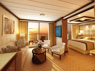 Suite mit Balkon der Majestic Princess