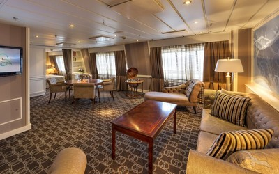 Captain's Suite der MS Albatros - Kabinenfoto Suite