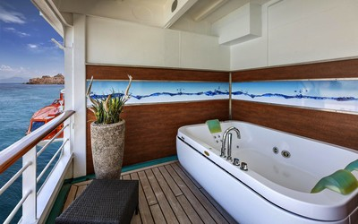 MS Amadea - Spa Junior Suite  - Kabinenfoto Suite