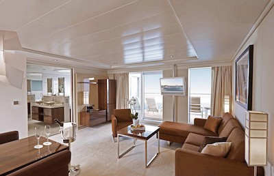 MS Europa 2 - Grand Penthouse Suite  - Kabinenfoto Suite