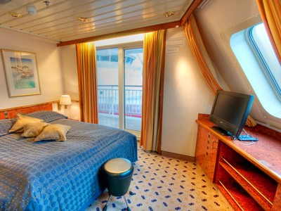 Grand-Suite der MS Finnmarken - Kabinenfoto Suite