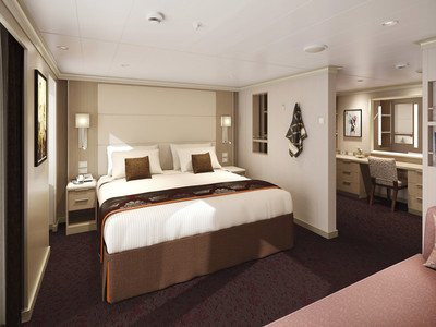 SPA Suite der MS Koningsdam - Kabinenfoto Suite