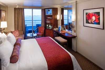 Vista Suite der MS Prinsendam