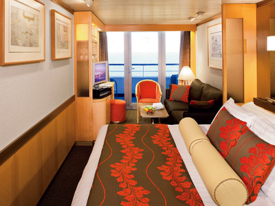 Vista-Suite der MS Veendam