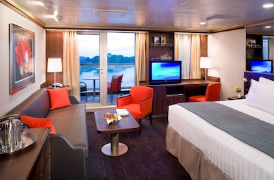 Signature Suite der MS Westerdam