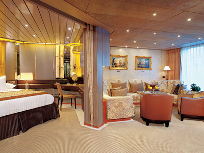 ms Zaandam - Pinnacle Suite  - Kabinenfoto Suite
