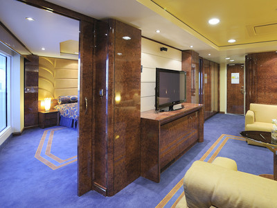 MSC Fantasia - Executive & Family Suite  - Kabinenfoto Suite