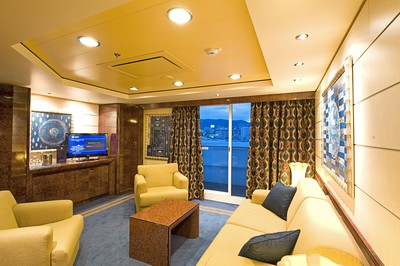 Royal-Suite der MSC Fantasia