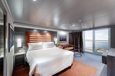 Yacht Club Deluxe Suite Wellness der MSC Meraviglia