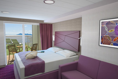Grand Suite Wellness der MSC Seaside - Kabinenfoto Suite