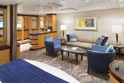 Grand Suite der Navigator of the Seas - Kabinenfoto Suite