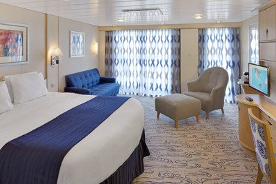 Junior-Suite der Navigator of the Seas - Kabinenfoto Suite