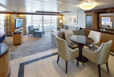 Navigator of the Seas - Owner Suite  - Kabinenfoto Suite