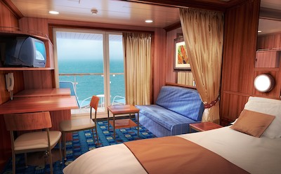 Mini-Suite der Norwegian Dawn