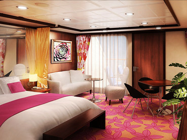 Penthouse der Norwegian Gem