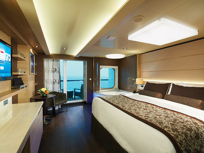 The Haven Spa Suite der Norwegian Getaway