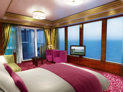 The Haven Garden Villa der Norwegian Jade - Kabinenfoto Suite