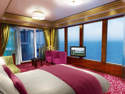 The Haven Garden Villa der Norwegian Jewel - Kabinenfoto Suite