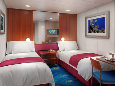 Innenkabine der Norwegian Jewel