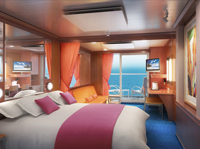 Norwegian Jewel - Mini-Suite  - Kabinenfoto Suite
