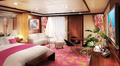 Penthouse der Norwegian Jewel