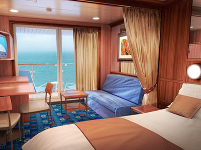 Mini-Suite der Norwegian Star