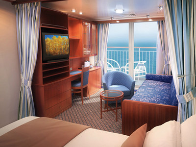 Mini-Suite der Norwegian Sun - Kabinenfoto Suite