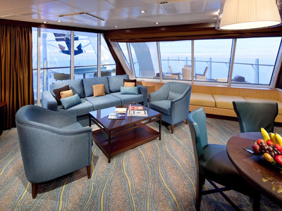 Aqua Theater Suite der Oasis of the Seas - Kabinenfoto Suite