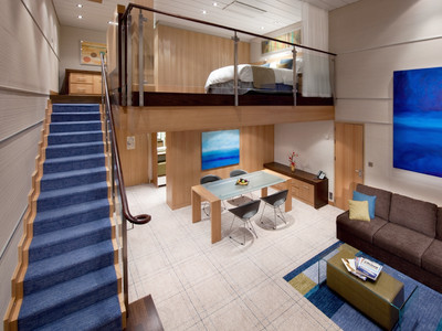 Sky Loft Suite der Oasis of the Seas