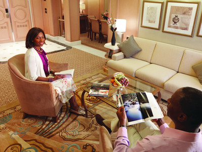 Grand Suite der Queen Elizabeth - Kabinenfoto Suite
