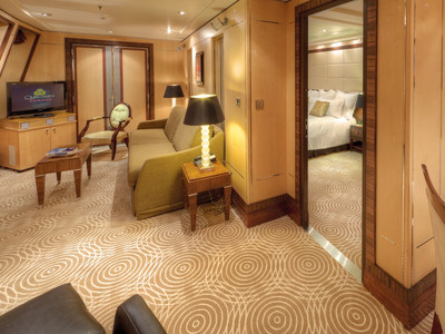Queen Mary 2 - Royal Suite  - Kabinenfoto Suite
