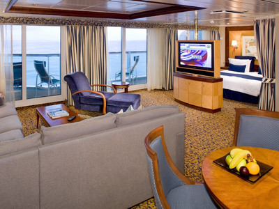 Radiance of the Seas - Owner Suite  - Kabinenfoto Suite