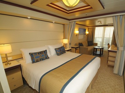 Mini Suite mit Balkon der Regal Princess - Kabinenfoto Suite