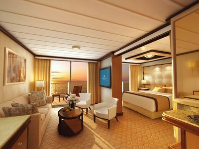 Regal Princess - Suite mit Balkon  - Kabinenfoto Suite