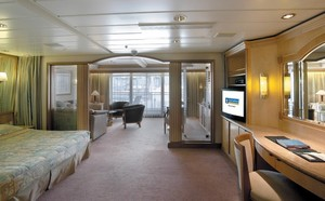 Rhapsody of the Seas - Owner Suite  - Kabinenfoto Suite