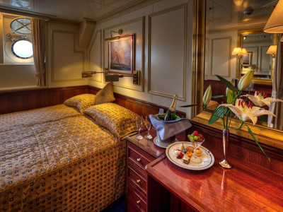 Deluxe Suite der Royal Clipper - Kabinenfoto Suite