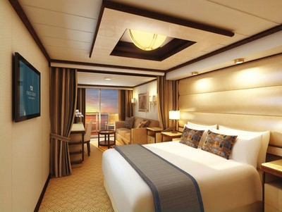 Mini Suite mit Balkon der Royal Princess