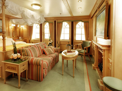 Sea Cloud II - Owner Suite  - Kabinenfoto Suite