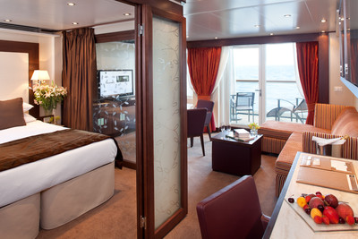 Seabourn Sojourn - Penthouse Suite  - Kabinenfoto Suite