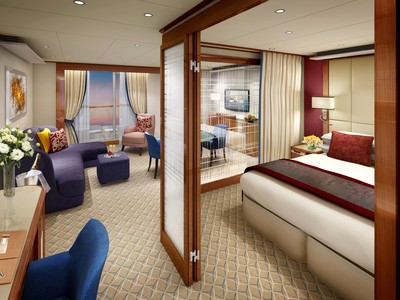 Seabourn Sojourn - Spa Penthouse-Suite  - Kabinenfoto Suite