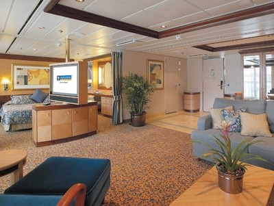Serenade of the Seas - Owner Suite  - Kabinenfoto Suite
