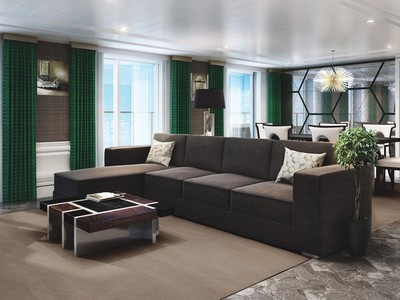 Seven Seas Explorer - Grand Suite  - Kabinenfoto Suite