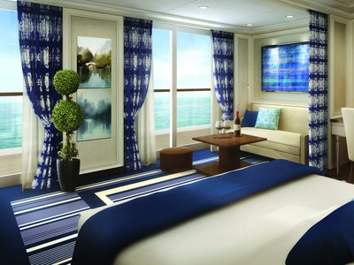 Seven Seas Explorer - Superior Suite  - Kabinenfoto Suite