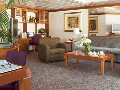 Seven Seas Mariner - Grand Suite  - Kabinenfoto Suite