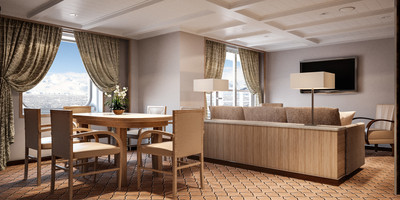 Owner Suite der Silver Cloud - Kabinenfoto Suite